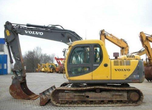 Volvo Digger - at CPS Plant